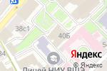 Схема проезда до компании Paradise spa cluib в Москве