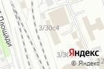 Схема проезда до компании INERTICO в Москве