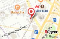 Схема проезда до компании Строительные Технологии в Москве