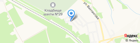Детский сад №74 на карте Донецка