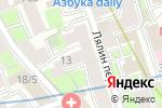 Схема проезда до компании Майская Роза в Москве