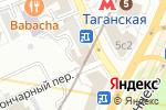 Схема проезда до компании Общество защиты прав в Москве