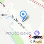 ДЭРСЭТ на карте Москвы