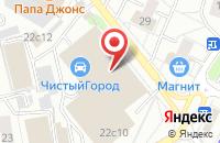 Схема проезда до компании Хайвэй медиа групп в Москве