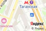 Схема проезда до компании Чак Норрис в Москве