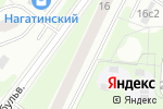 Схема проезда до компании Шедевр в Москве