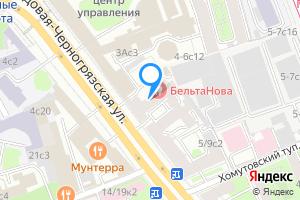 Комната в Москве м. Красные ворота, Садовая-Черногрязская улица, 3Бс1