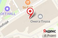 Схема проезда до компании Профстандарт в Москве