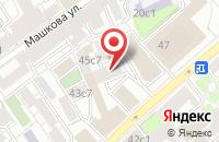 Схема проезда до компании Директ Плюс в Москве