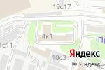 Схема проезда до компании АнКор в Москве