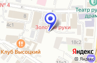Схема проезда до компании ПТФ АСБ ЭЛИТ М в Москве