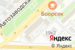 Схема проезда до компании Хостел на Автозаводской в Москве