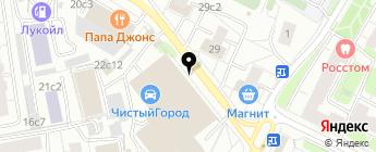 Kibercar.com на карте Москвы