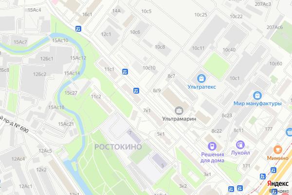 Ремонт телевизоров Улица Докукина на яндекс карте