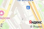 Схема проезда до компании Большие Каменщики, ТСЖ в Москве