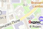 Схема проезда до компании АудитСервис в Москве