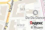 Схема проезда до компании Евромед Консалт в Москве