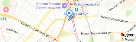 Стройпутьинвест на карте Москвы