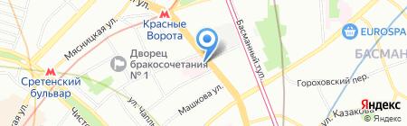 Московский НИИ глазных болезней им. Гельмгольца на карте Москвы