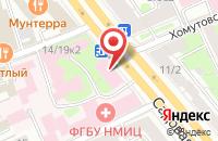 Схема проезда до компании Ассоциация Врачей-Офтальмологов в Москве