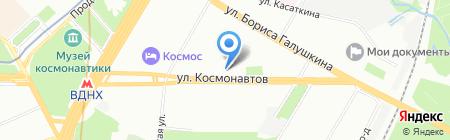 Авторская Школа Шехтера на карте Москвы