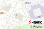 Схема проезда до компании Blanco в Москве