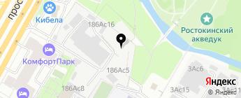 Автоцентр 1400 на карте Москвы