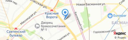 Альфа Сервис на карте Москвы