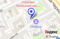Схема проезда до компании МЕБЕЛЬНЫЙ САЛОН INTERDESIGN STUDIO в Москве
