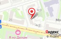 Схема проезда до компании Стройсеть в Москве