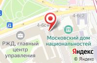 Схема проезда до компании Дв-Рассвет в Москве