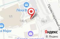 Схема проезда до компании Инфоком консалтинг и инжиниринг в Москве