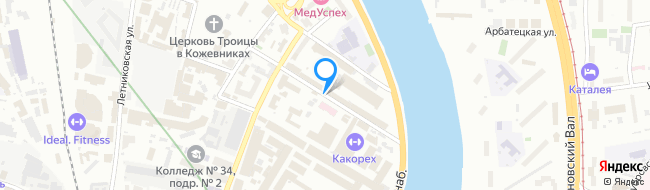 переулок Дербеневский 1-й