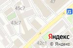 Схема проезда до компании Промстройспецодежда в Москве