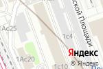 Схема проезда до компании Европа Уно Трейд в Москве