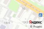 Схема проезда до компании Лутонюшка-М в Москве