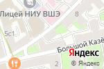 Схема проезда до компании Международный Юридический Центр в Москве