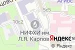Схема проезда до компании Метатрон в Москве