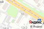 Схема проезда до компании Прачечная в Москве