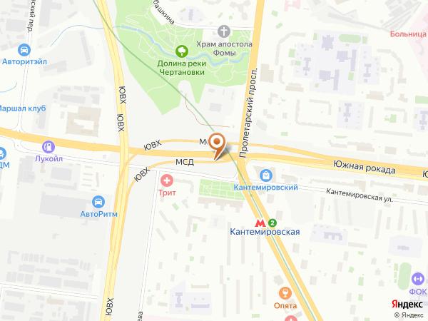 Остановка «Кантемировская ул.», Проектируемый проезд № 5159 (1008648) (Москва)