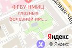 Схема проезда до компании Школа №2095 в Москве