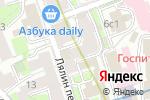 Схема проезда до компании Soins de Beaute в Москве