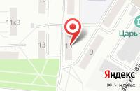 Схема проезда до компании Сад Модерн в Москве