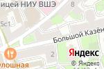 Схема проезда до компании Увертюра в Москве