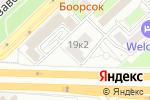 Схема проезда до компании Учебный Центр Федерации горнолыжного спорта и сноуборда России в Москве