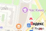 Схема проезда до компании Gamezone в Москве