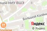 Схема проезда до компании CreativePeople в Москве
