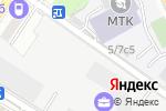 Схема проезда до компании Exposystems в Москве