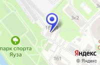 Схема проезда до компании ПОДРОСТКОВЫЙ КЛУБ МЕЛОДИЯ в Москве