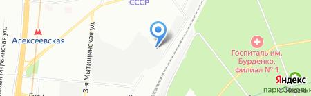 Брайтэлек на карте Москвы